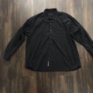 Men's Tommy Bahama Black Dress Shirt